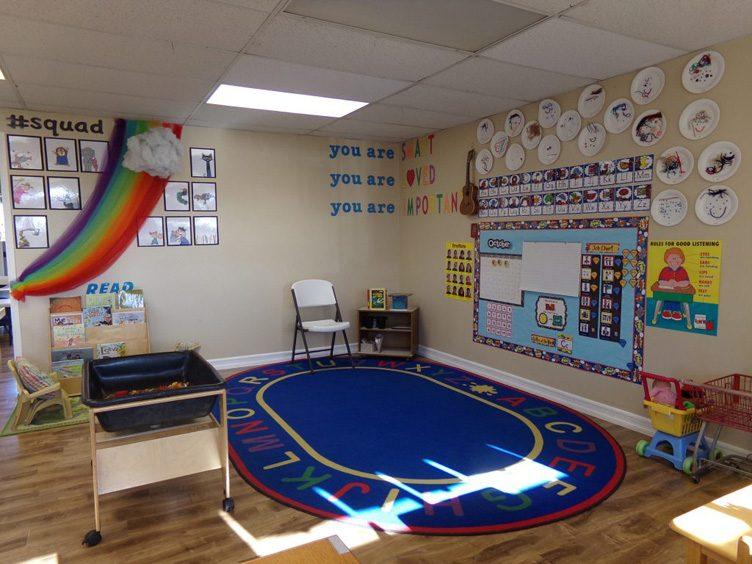 Combo 3 & 4 classroom's left side